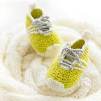婴儿钩针运动鞋编织视频教程