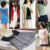 201629期周热门编织作品:女士儿童夏季编织服饰15款