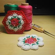 浪漫美丽图案与你零距离 经典英式玫瑰碎花图案图文详解