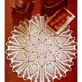 多款有图解的精美蕾线菠萝花台布