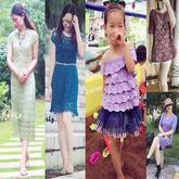 201630期周热门编织作品:女士儿童夏季编织服饰16款