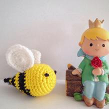 Bee Happy钩针快乐小蜜蜂玩偶图解教程