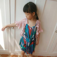 蕾丝钩针编织儿童桌布衣
