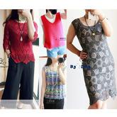 201632期周热门编织作品:女士夏季编织服饰13款