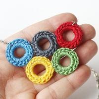 里约奥运主题的创意毛线编织物