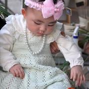钩法简单的可爱钩针宝宝背心裙
