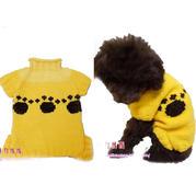 宠物澳门威尼斯人娱乐平台视频教程教你织狗狗套头毛衣(2-1)