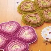 手工旧毛线编织地毯,编织出你的生活艺术