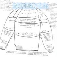 现代西方编织祖师级人物EZ解密圆肩毛衣编织方法