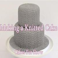 甜蜜蜜翻糖针织蛋糕基本款制作图例教程