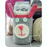 入秋开学季来一款保温防摔创意毛线编织杯套