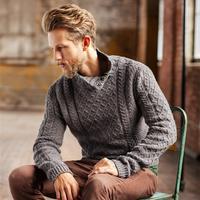 10款BT布鲁克林粗花呢男士毛衣设计