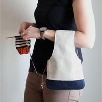形形色色可供你站立或走动时进行编织的毛线收纳袋
