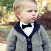 新妈咪快看,最适合男宝宝的23款手编毛衣(附教程)
