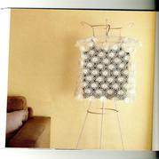 少女款白色一线连拼花短袖套衫