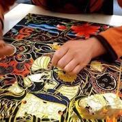 中国非物质文化遗产--藏族邦典、卡垫织造技艺