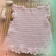女童云帛Ⅱ钩针小飞袖套衫