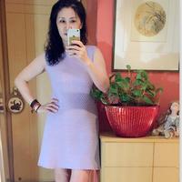 云帛Ⅱ女士钩针修身无袖连衣裙