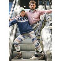 复古风潮趴 毛线裤掀起另类国际时尚