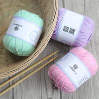 初线初棉100%纯棉全棉线新生儿专用线