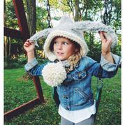 萌娃和潮童就差了一顶独特古怪的毛线帽!