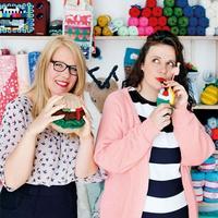 原来这些都是她们编织的 来自荷兰Club Gelukt的趣味编织