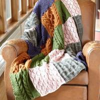 过冬利器——w66.com利来国际毛线毯