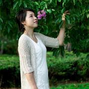 云素麻棉女士初秋实用五分袖开衫