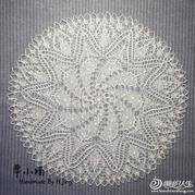棒针编织孔斯特艺术蕾丝