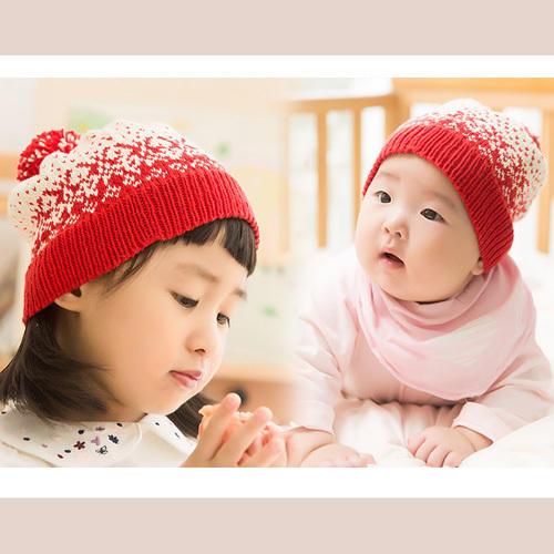 兒童棒針提花帽子編織視頻教程