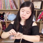 用手指玩个毛线 小喵老师直播教手指编织