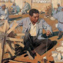周总理也是纺线高手 纺车与纺线的一些事儿