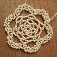 串连编织花型首饰饰品教程