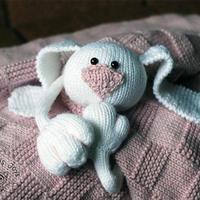 来自乌克兰萌化人心的超大号婴儿安抚巾(婴儿毛线毯)