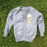 从上往下织女士开衫毛衣编织视频教程(2-1)
