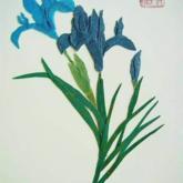 民族传统手工产品布艺画
