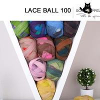 德国黑猫魔球1392-Lace Ball 100 蕾丝长段染纯毛线羊毛绒线800米100克