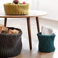 穿毛衣还不够,换上毛线家具才能安心过秋冬