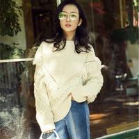 2016别致时尚秋冬毛衣十款(10月明星时尚街拍款)