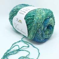 Rosecolor水彩画系列 粗丝棉段染线/长段染线/围巾披肩线/外套线100g