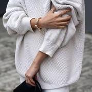 学会这几招,旧毛衣也能焕然一新,想不美都不行~