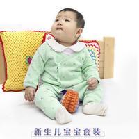 新生儿棒针宝宝套装编织视频(2-1)宝宝长袖开衫的织法