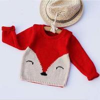 儿童狐狸毛衣(2-2)婴幼儿棒针毛衣零基础视频教程