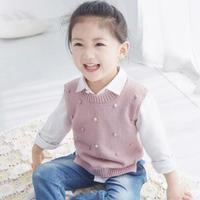 儿童时尚棒针背心编织视频教程