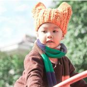 儿童钩针猫耳帽编织视频教程