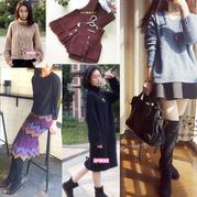201645、201646期周热门编织作品:时尚秋冬编织服饰23款