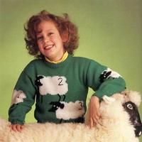原来全世界人民的童年里,都有一件这样的毛衣啊!