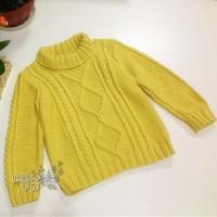 图文教程详解婴幼儿经典麻花毛衣织法