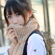 钩织结合三万三围巾编织视频(云绒版)