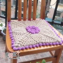 维多利亚风格娃娃家钩针编织坐垫